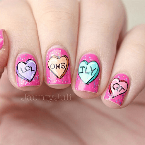 valentines-day-candy-heart-nail-designs