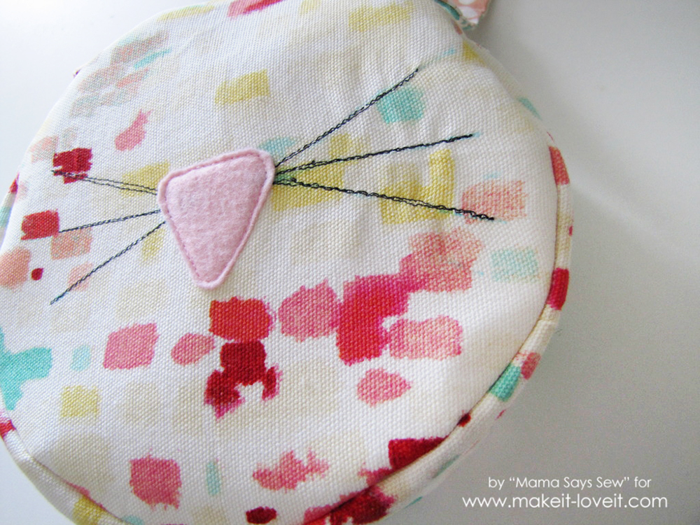 Easy bunny purse tutorial - perfect for Easter (24)