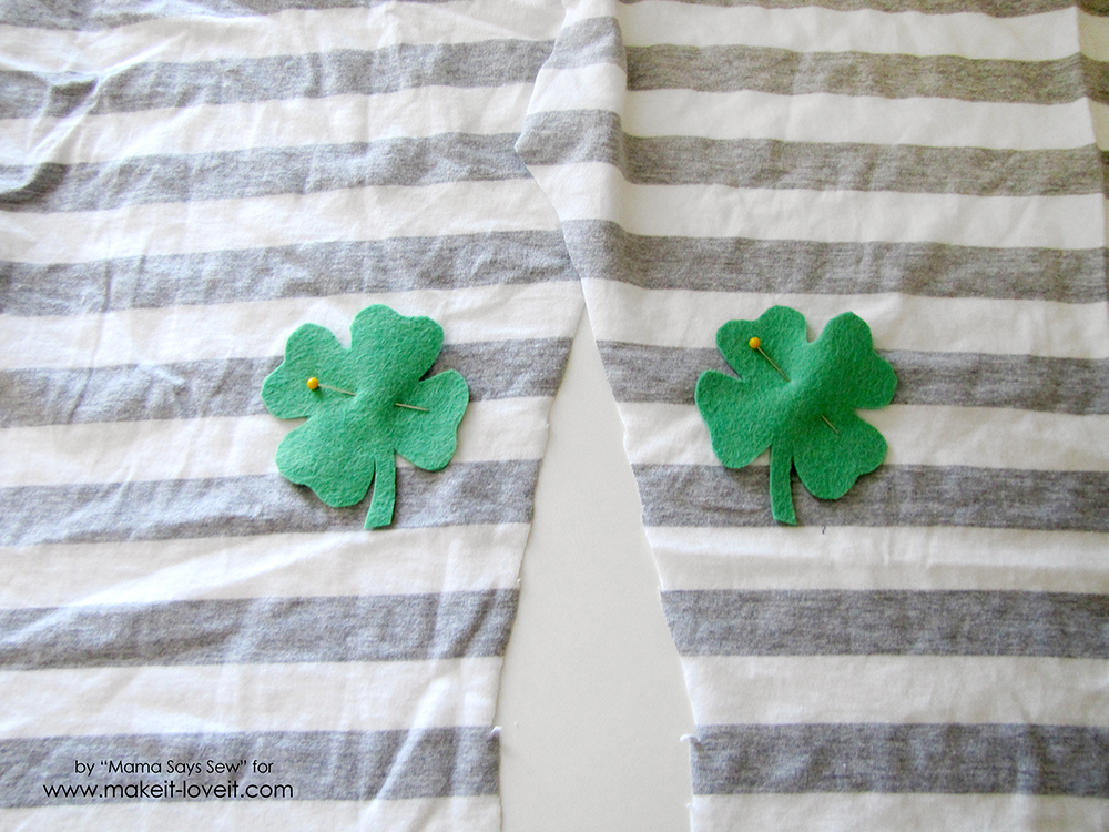 Super Easy Shamrock Leggings Tutorial (6)