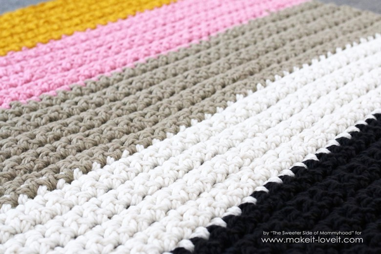 How To Crochet A Chunky Blanket....an Affordable Beginner Project! |