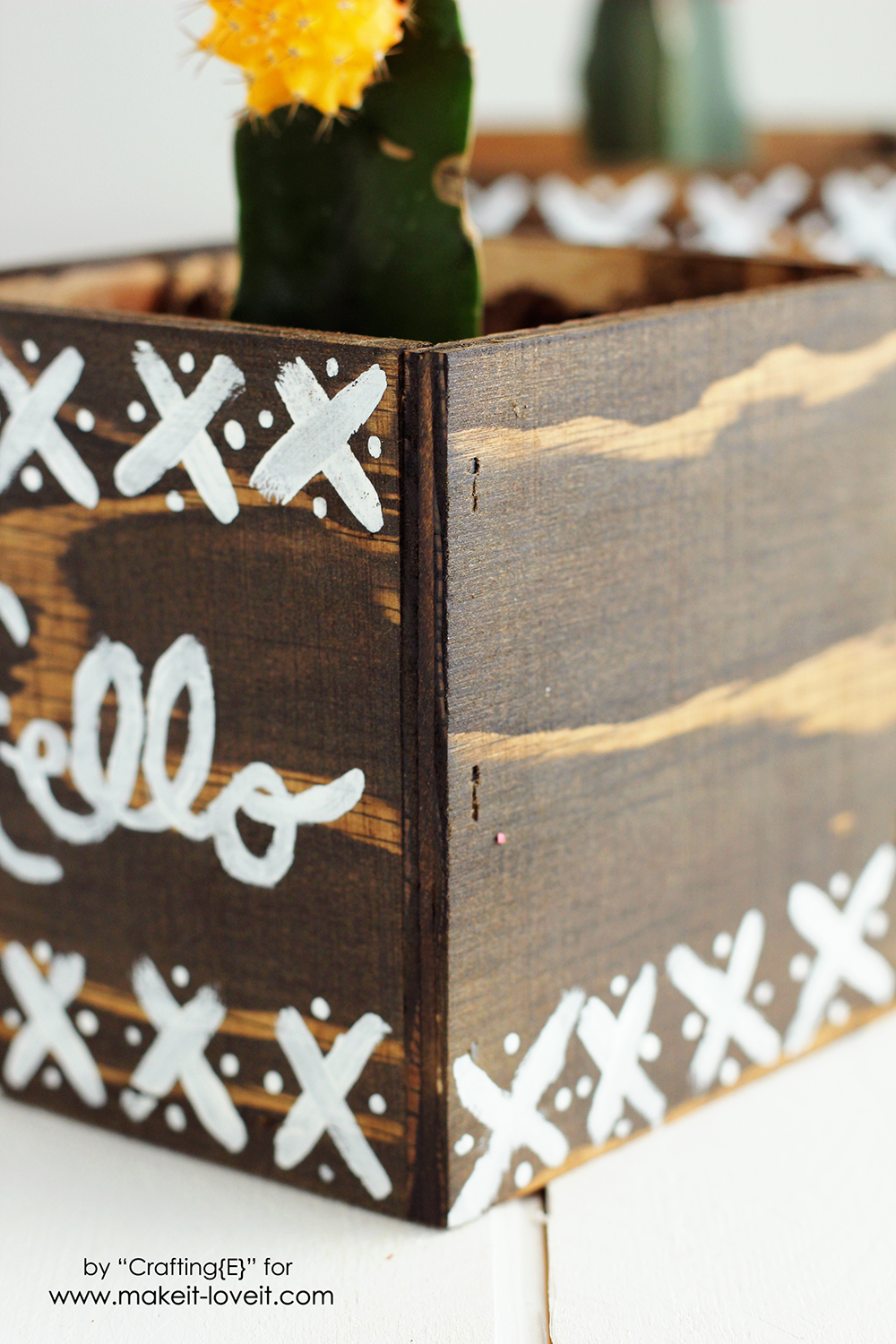 Easy DIY Plywood Planters | via Make It and Love It