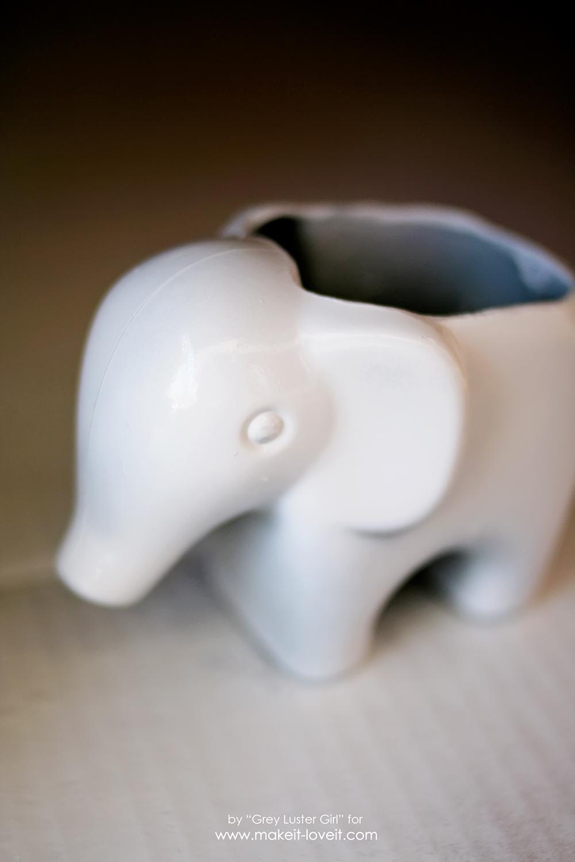 DIY Toy Elephant Succulent Planter (11)