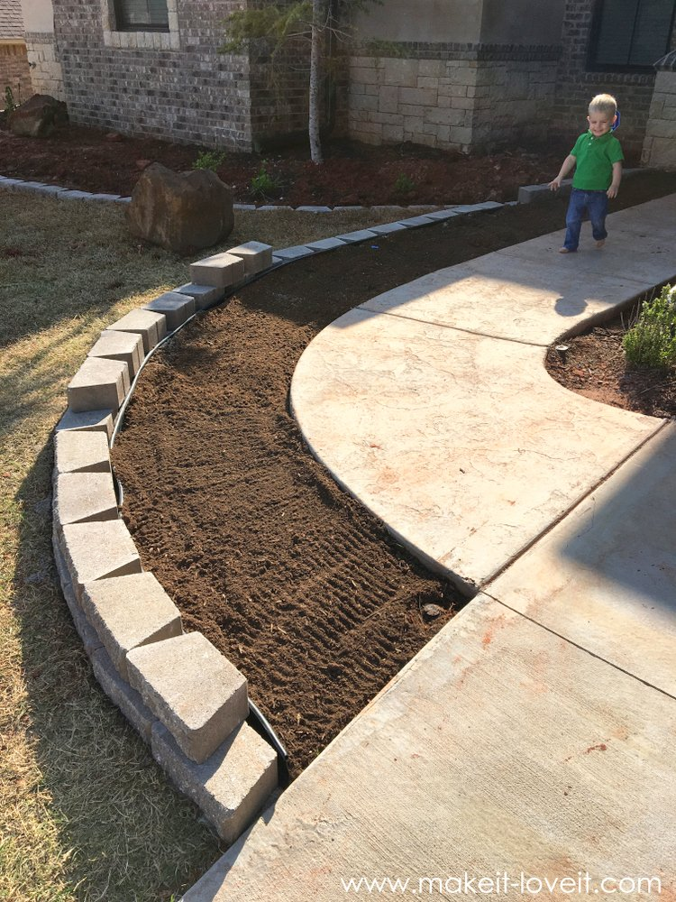 Getting our landscaping groove on make it and love it for Garden design instagram