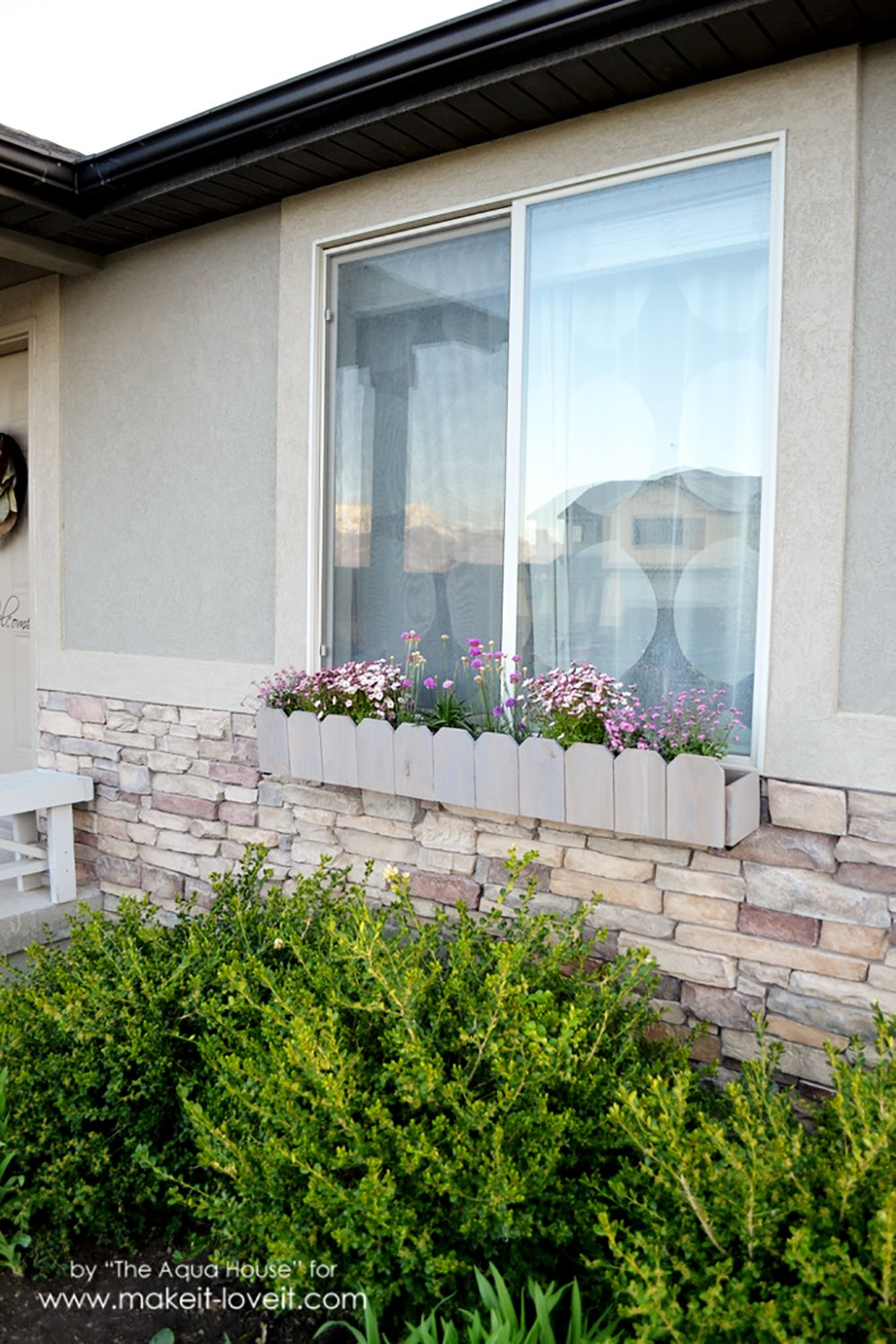 DIY Window Flower Boxes | via Make It and Love It