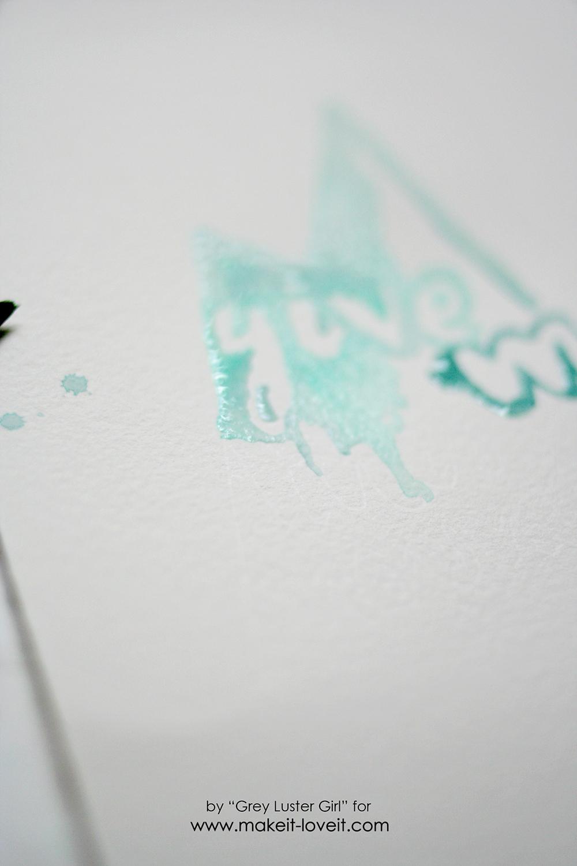 EASY watercolor typography (7)