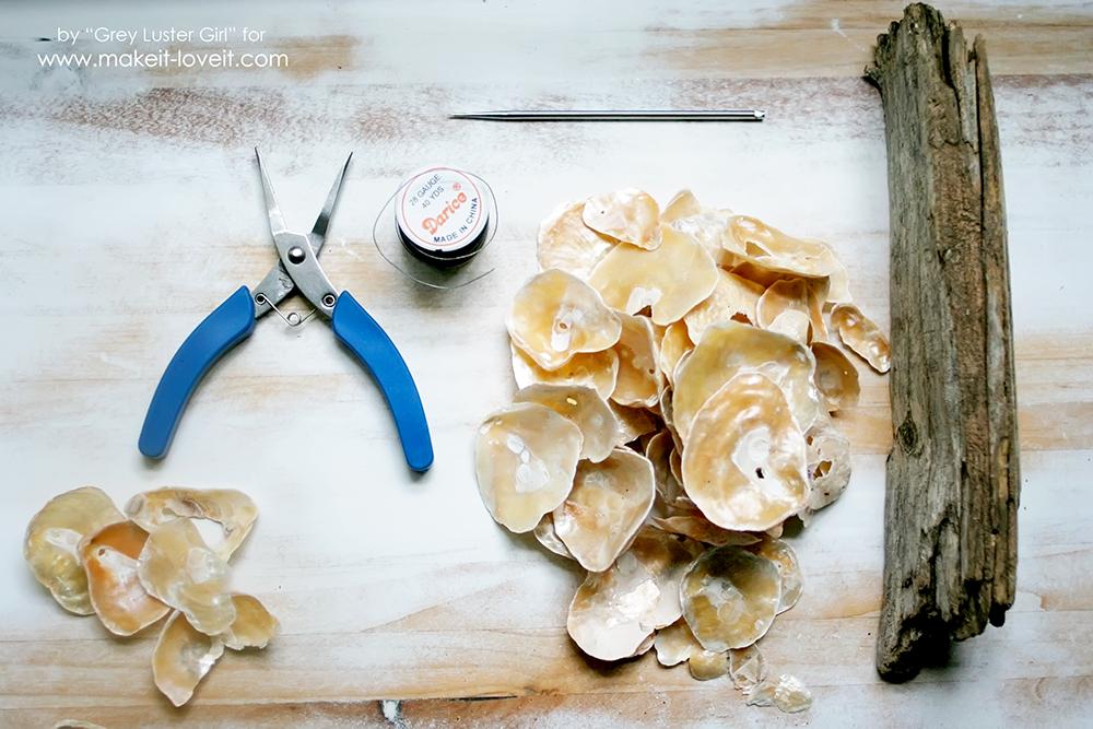 How to Make a Seashell Mobile (2)