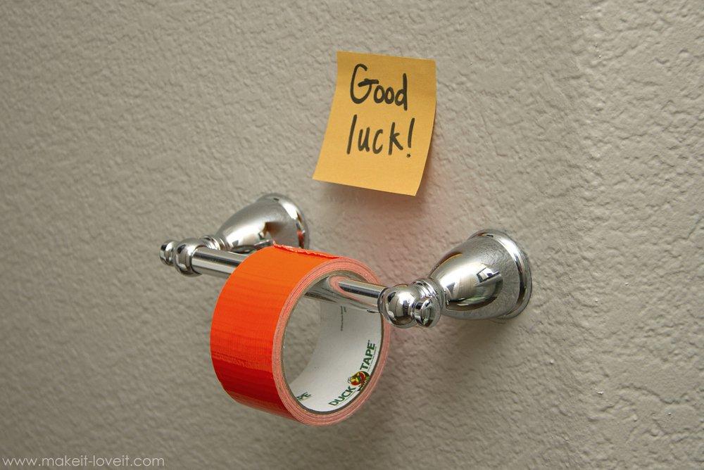 Modern At Home Prank Vignette - Bathroom ideas designs inspiration ...