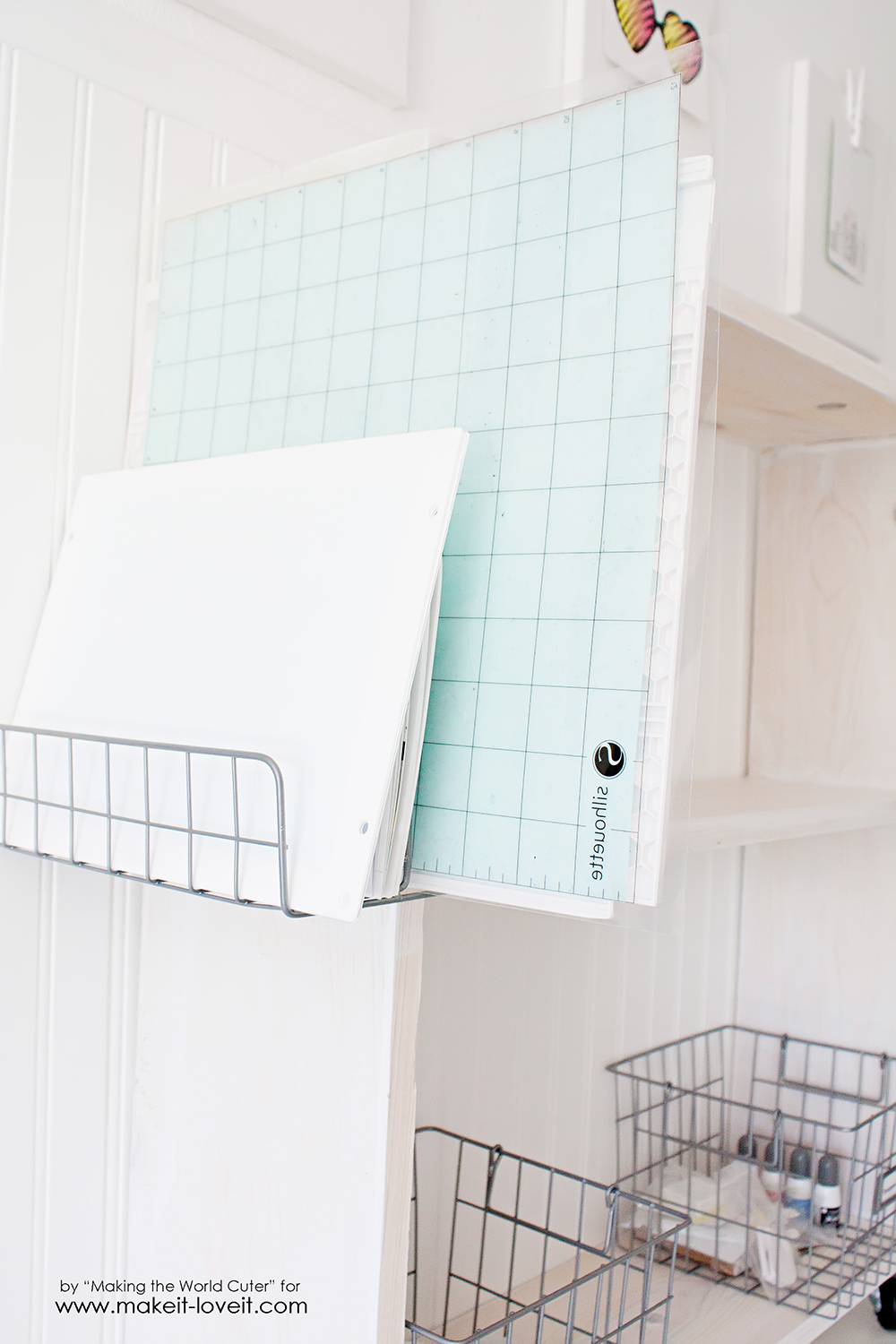 Diy Craft Storage Cart
