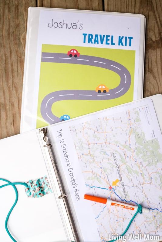Kids-Travel-Kit-Binder-Activity
