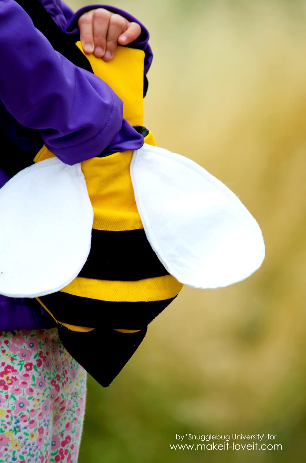 how to make a kid u0027s bumblebee cross body bag make it and love it