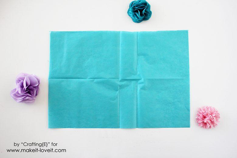 tissue paper flower letters (1)