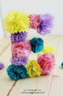 tissue paper flower letters (18)