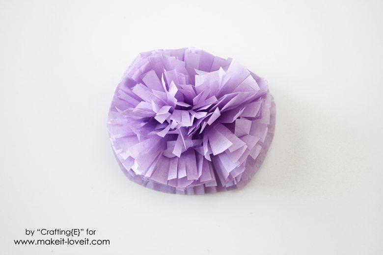 tissue paper flower letters (7)