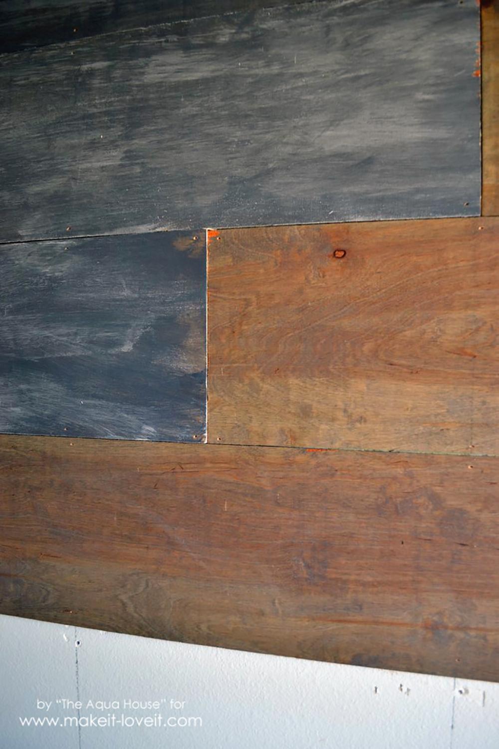 Faux barnwood wall (6)