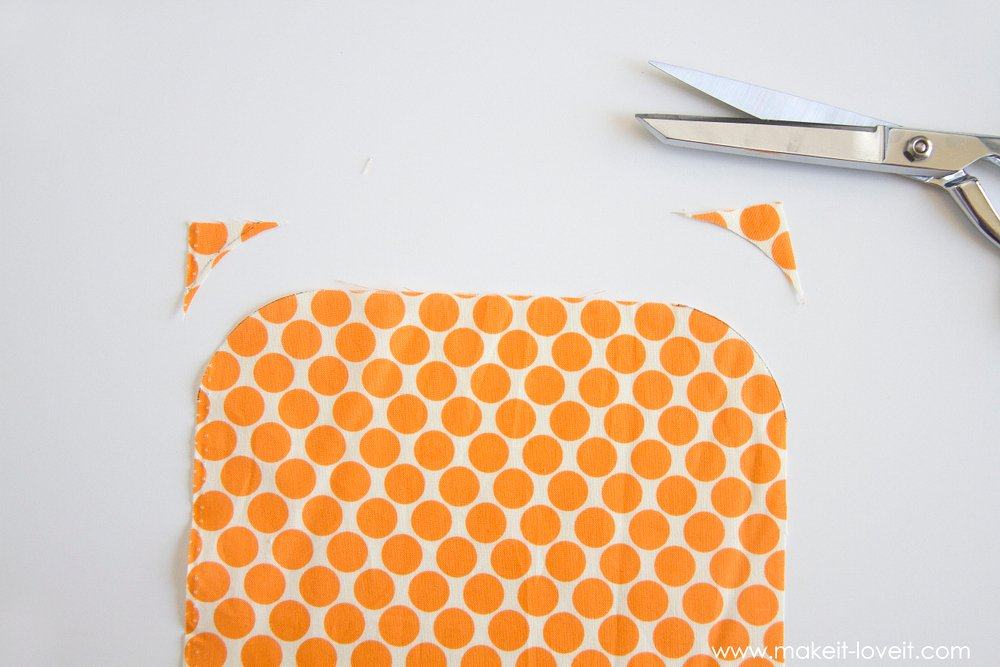 How to make a Double Pot Holder with Hand Pockets 8