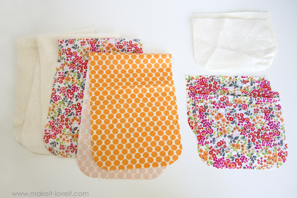 How to make a Double Pot Holder with Hand Pockets 9