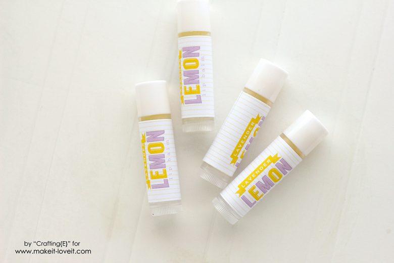 Lavender Lemon Lip Balm (5)