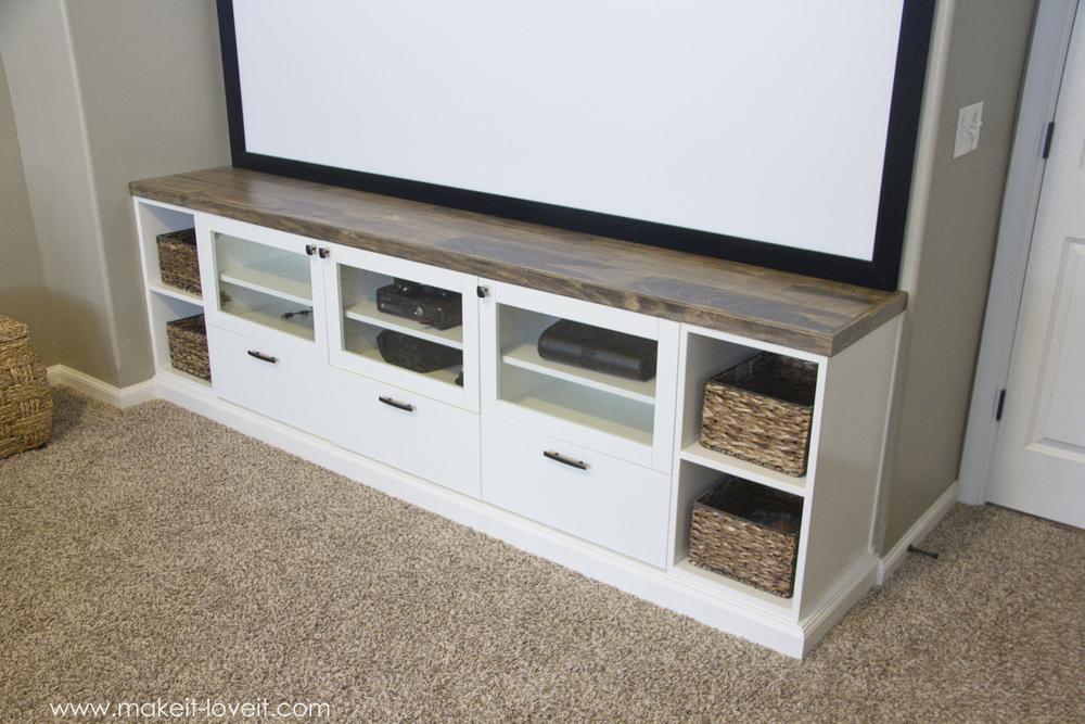 how to turn ikea bookshelves into custom built ins make