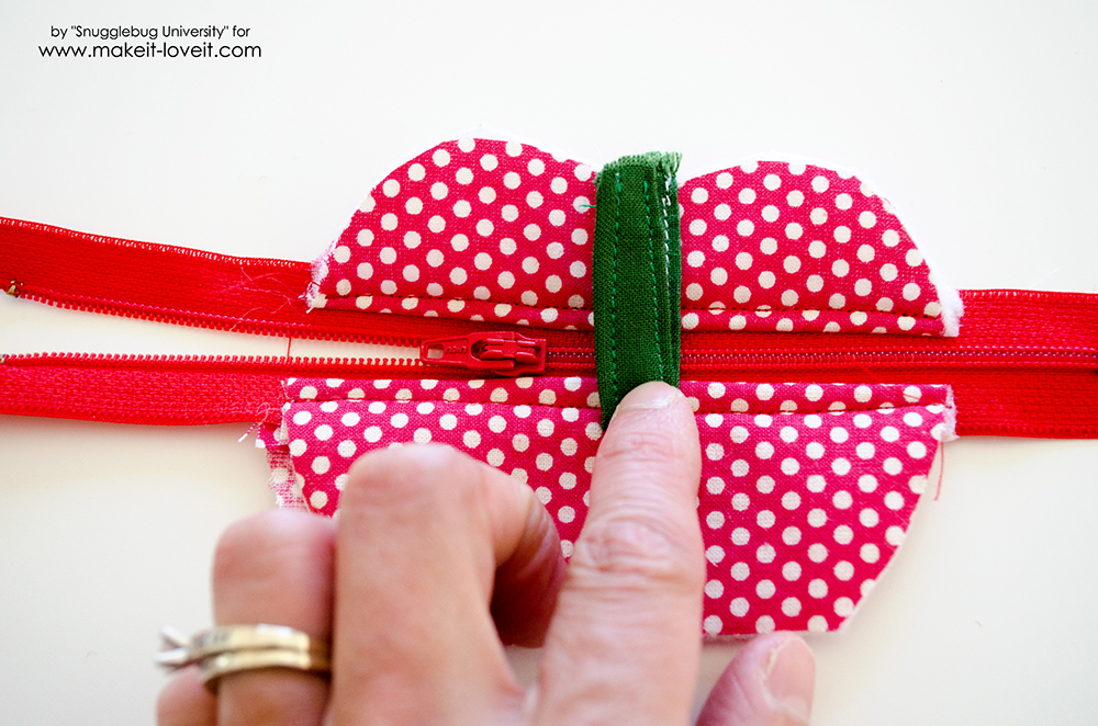 Lunch Money Apple Zippered pouch tutorial (21)