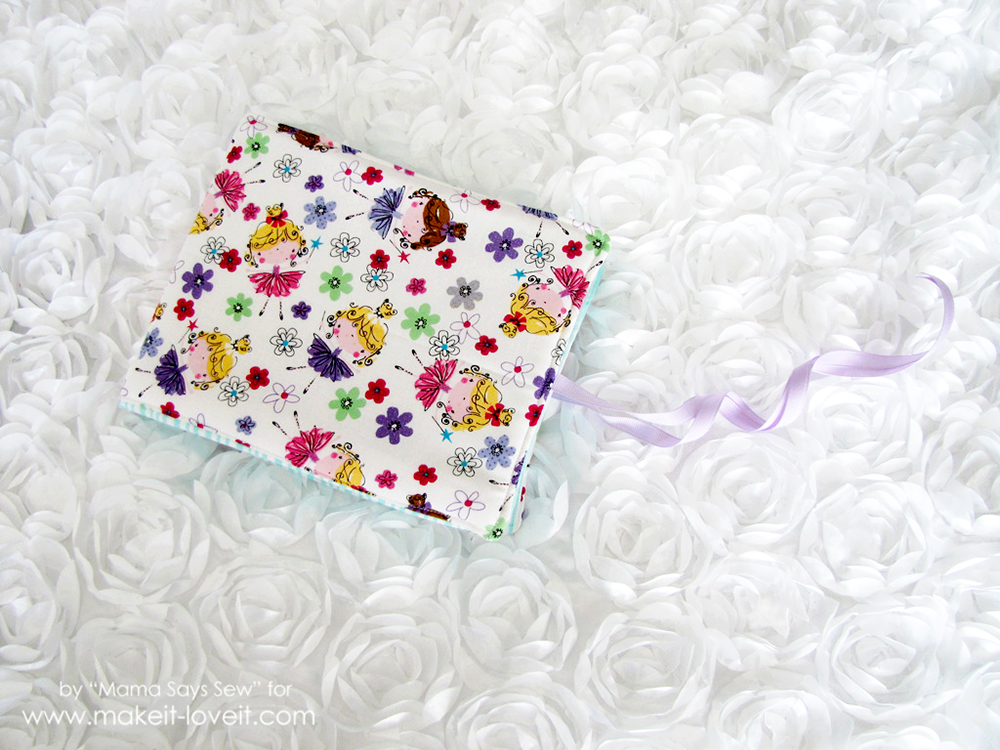 Diy Fabric Photo Album For Baby Make It And Love It