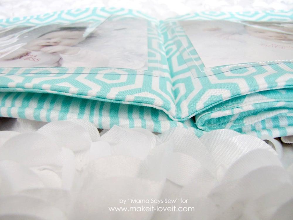 sew a fabric photo album (20)