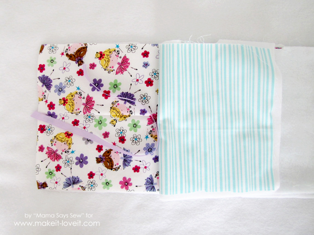 sew a fabric photo album (4)