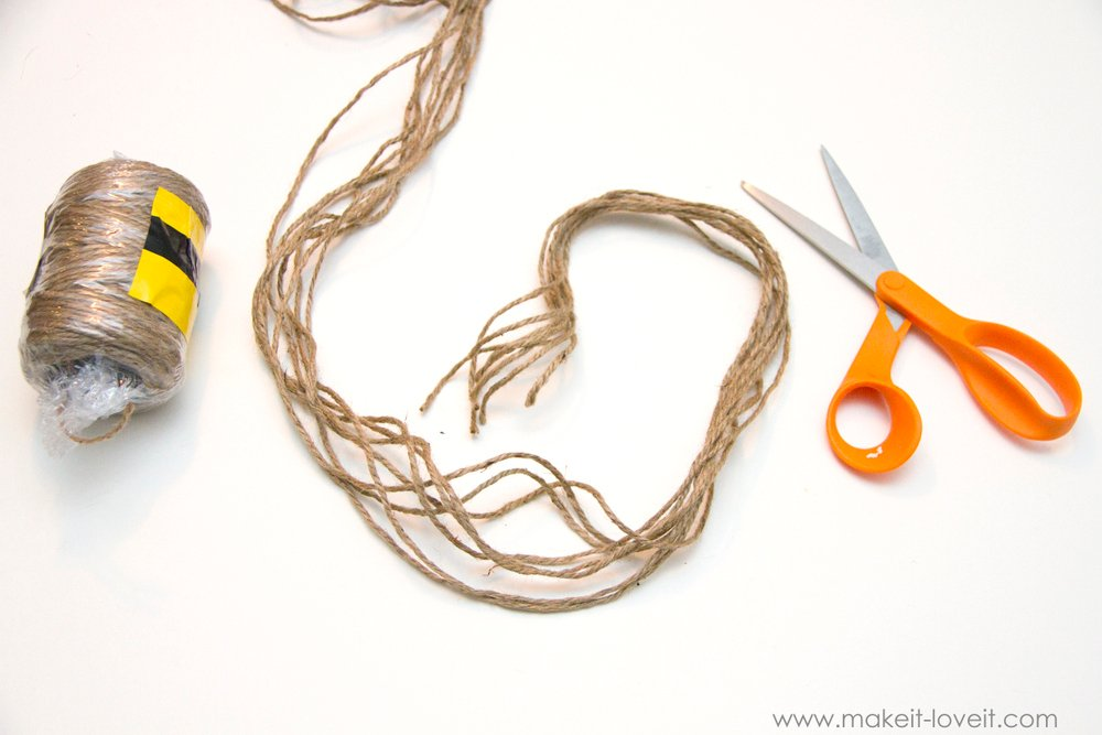 simple rope plant hanger 5