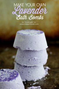 DIY Lavender bath bombs (1)