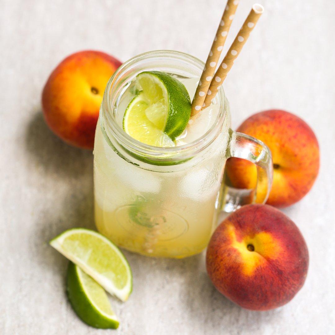 Jalapeno Peach Limeade