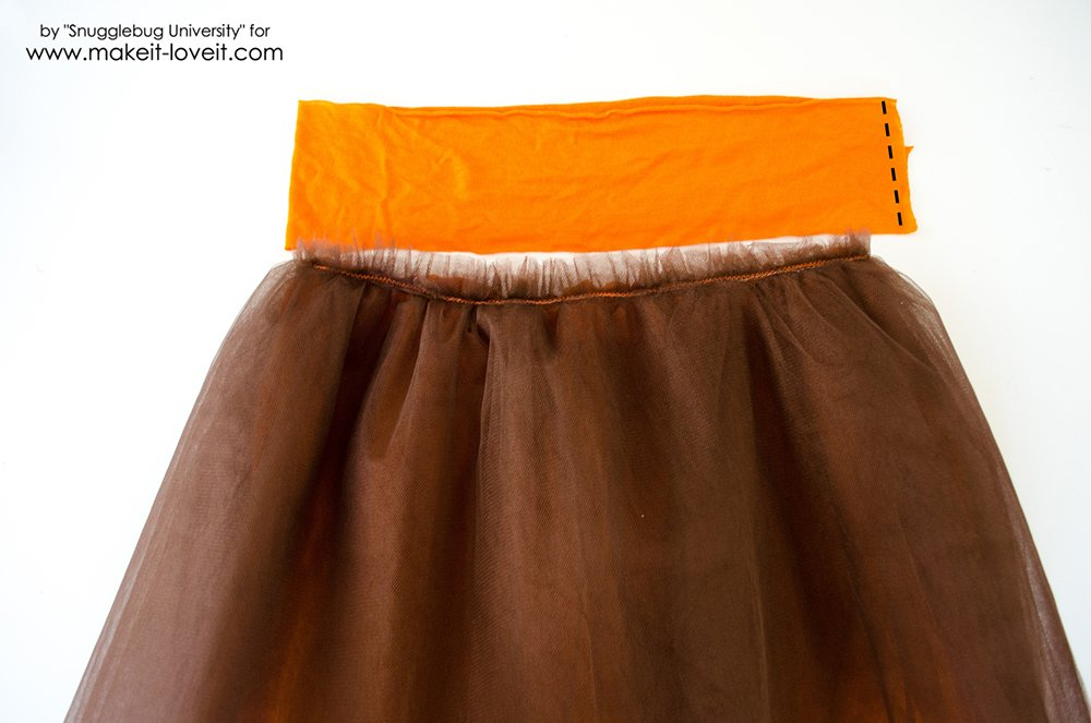 Tulle Skirt with Ribbon Flowers (35)