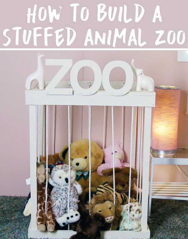 how to make a toy zoo