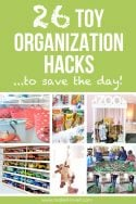 26 Toy Organization Hacks...to Save the Day!! | via www.makeit-loveit.com