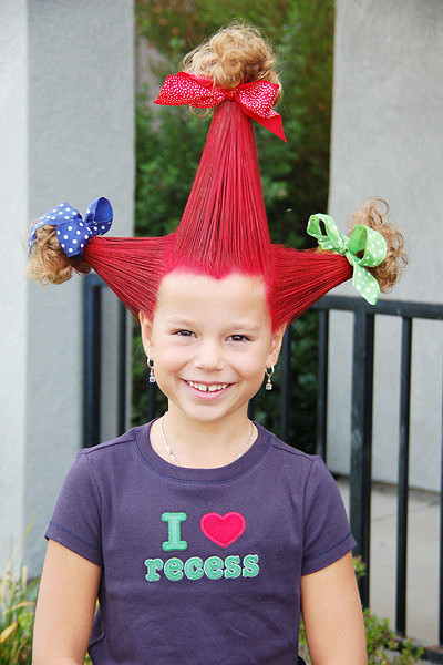 Admirable 25 Clever Ideas For Wacky Hair Day At School Including Hairstyles For Men Maxibearus