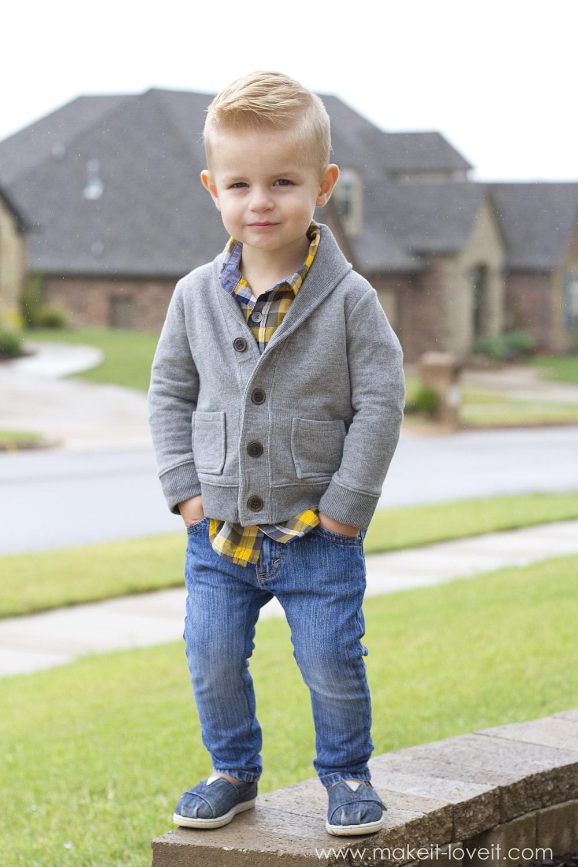 How to turn REGULAR Jeans...into SKINNY Jeans! | via www.makeit-loveit.com
