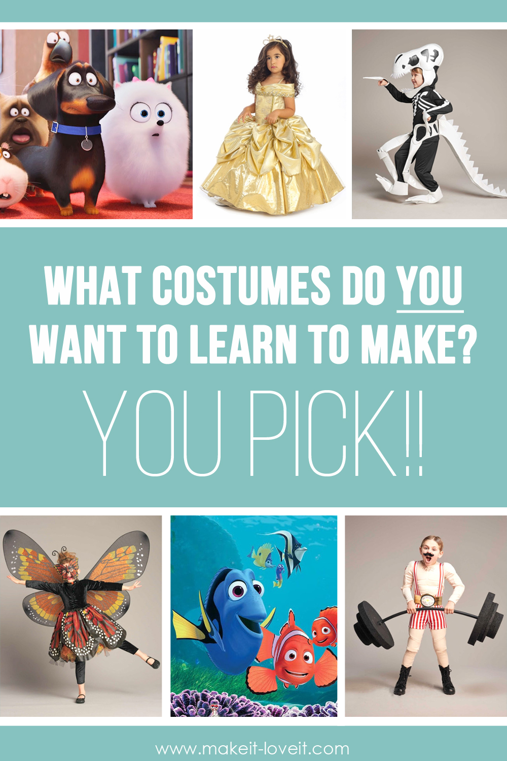 Halloween Costumes: Let's VOTE…and then make one TOGETHER!!