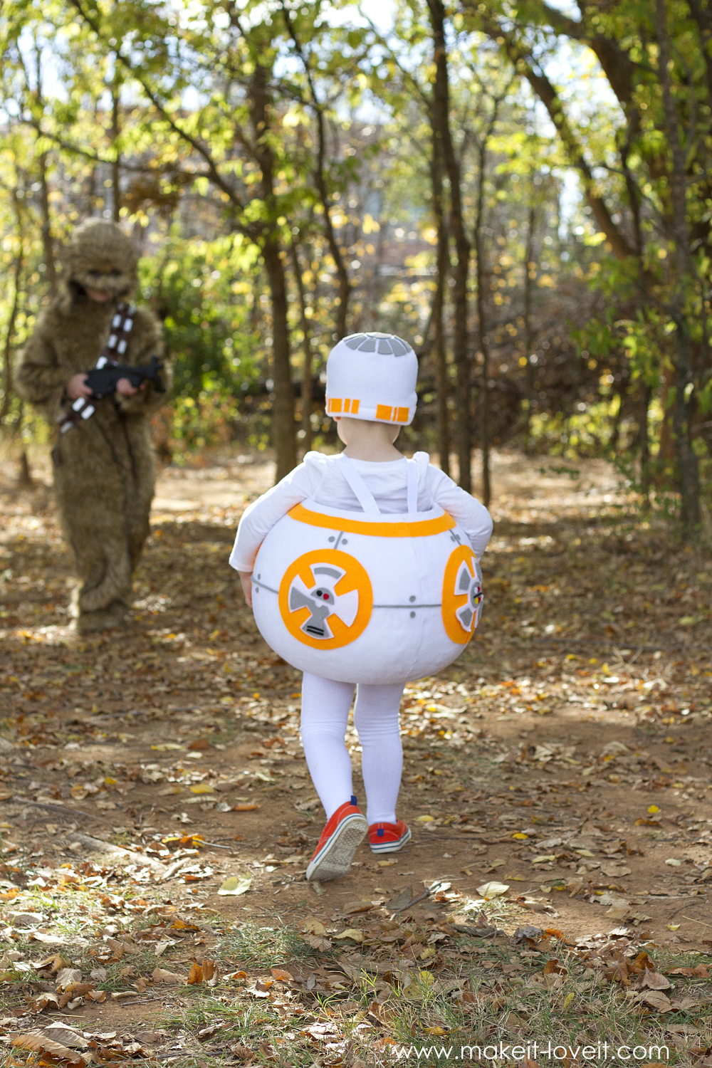 "How to make a ""BB8"" STAR WARS Costume! 