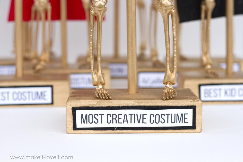 Halloween Costume Award Trophies, PART 2   via www.makeit-loveit.com