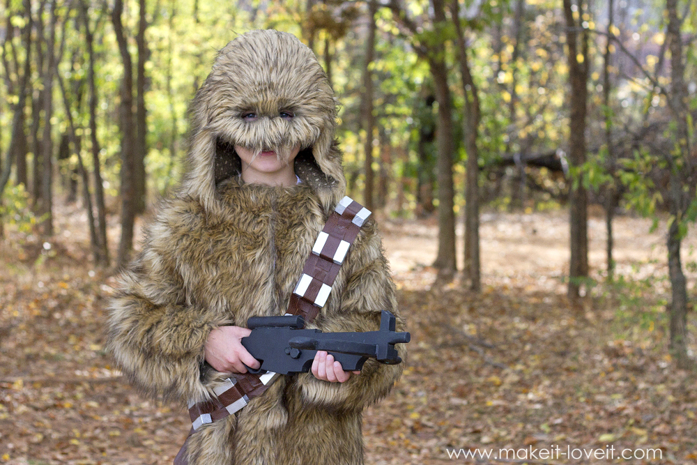 "How to make a ""CHEWBACCA"" Star Wars Costume! 