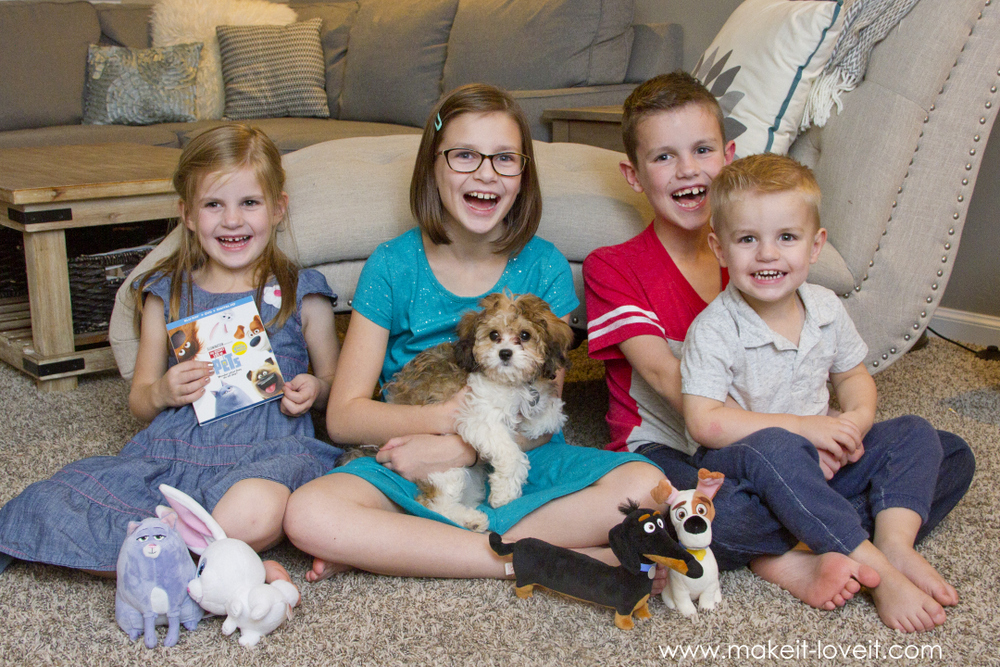 """""""Secret Life of Pets"""": a Movie Night, a Dog Biscuit Recipe…plus, we have a PUPPY! 