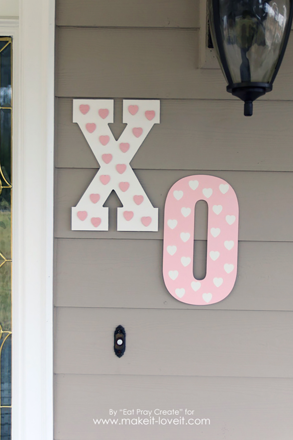 39 Xo 39 Valentine Home Decor Tutorial Make It And Love It