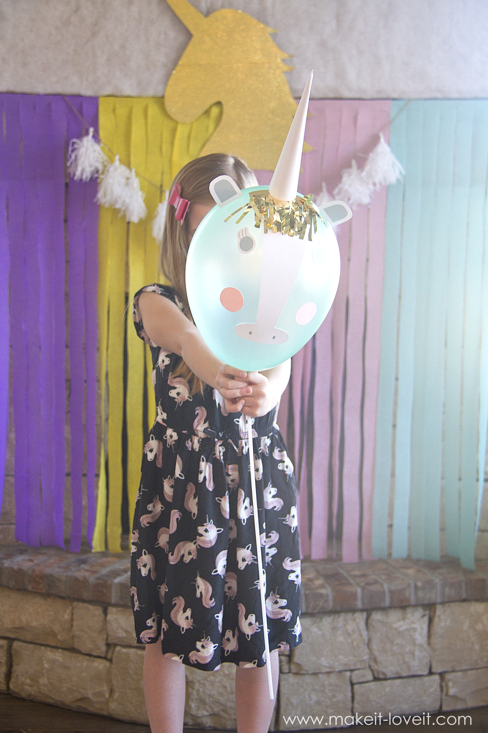 Diy Unicorn Party Balloons Make It And Love It