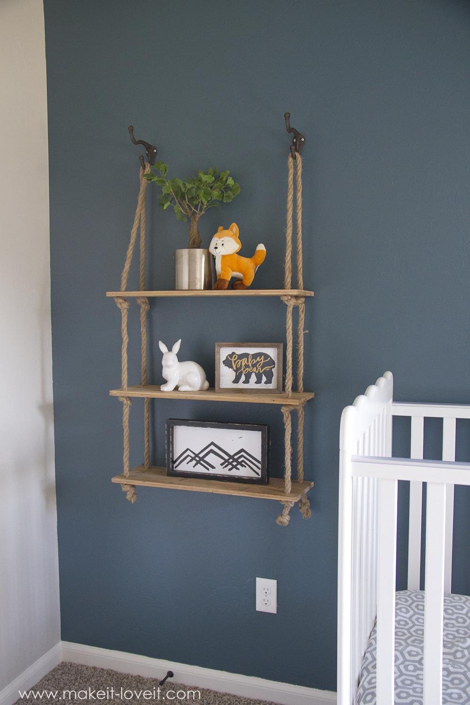 Diy Bookshelf Nursery