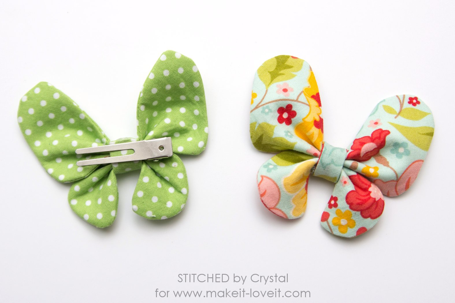 Hair bow button accessories -  Slide Your Clip In The Back Under The Fabric Tube Or Hot Glue The Butterfly In Place On A Clip Or Headband And Your Butterfly Hair Bow Is Done