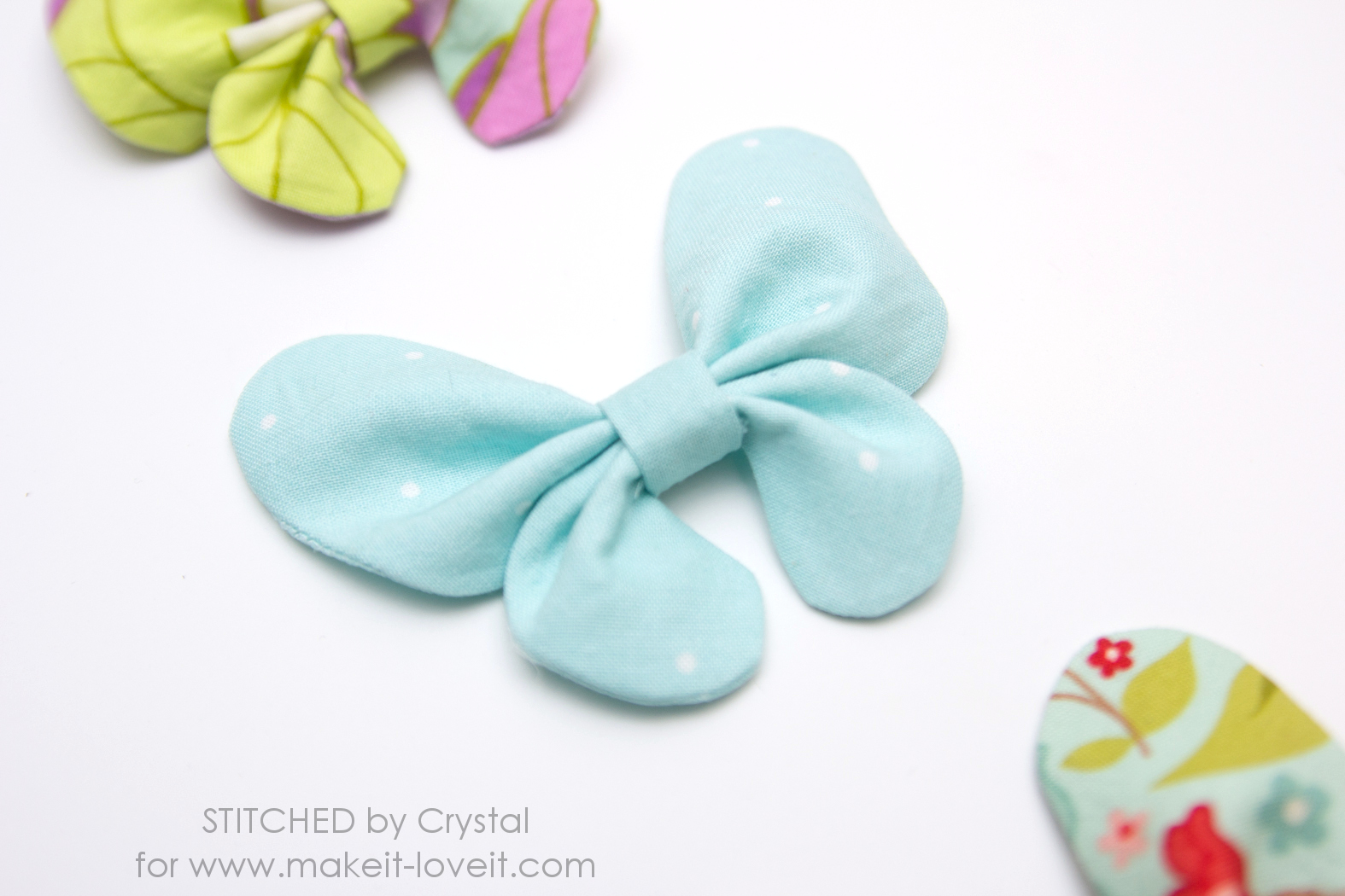 Hair bow button accessories - Start By Printing Your Pattern And Cutting It Out Then Use The Pattern To Cut One Top Wing Piece And One Bottom Wing Piece From Your Interfacing