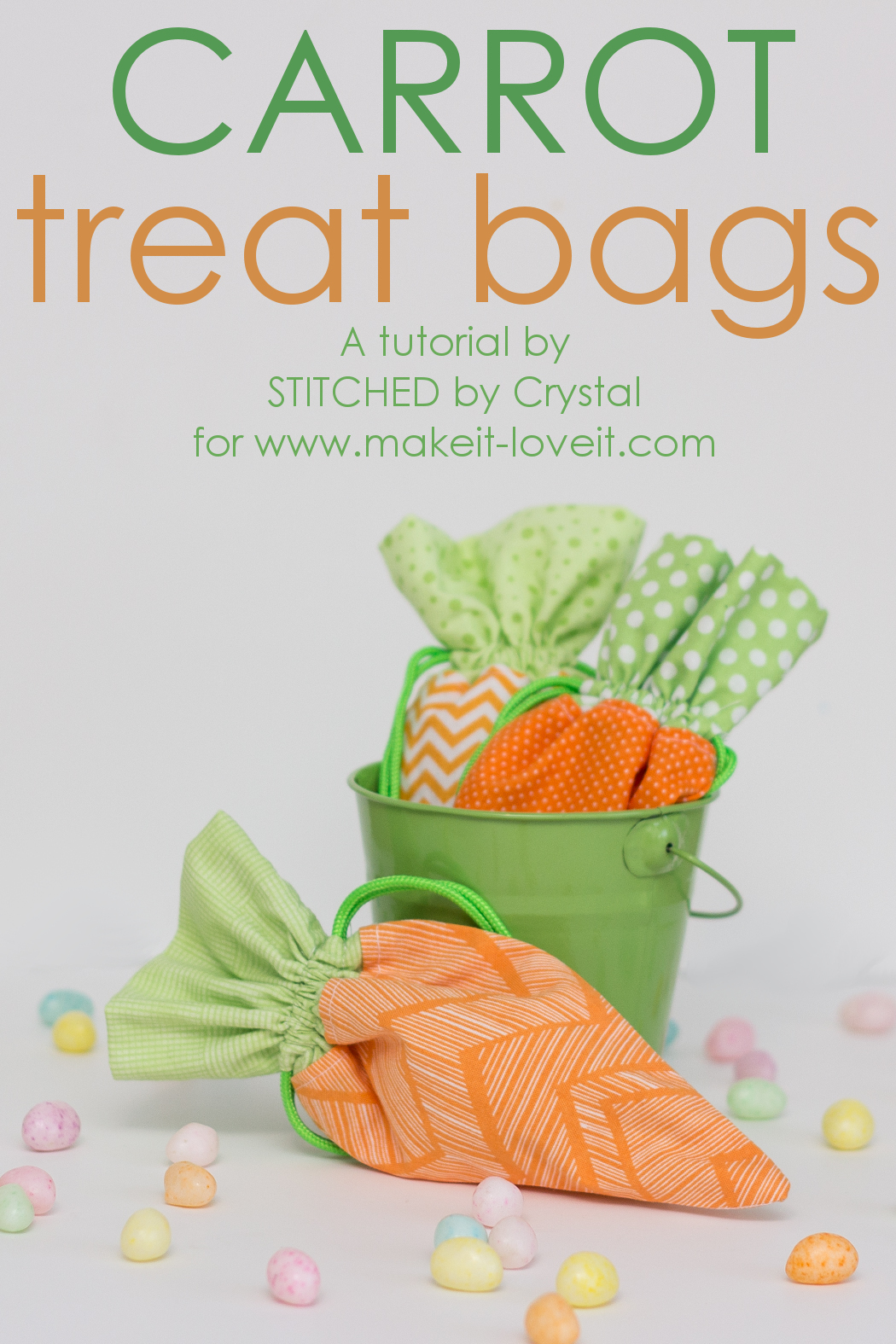 how to make easter bags