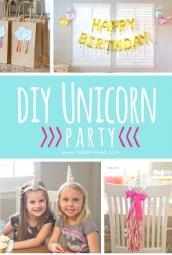 DIY Unicorn Party (...and Chloe turned 6!!)