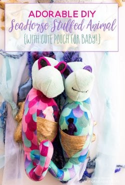 Adorable DIY Seahorse Stuffed Animal