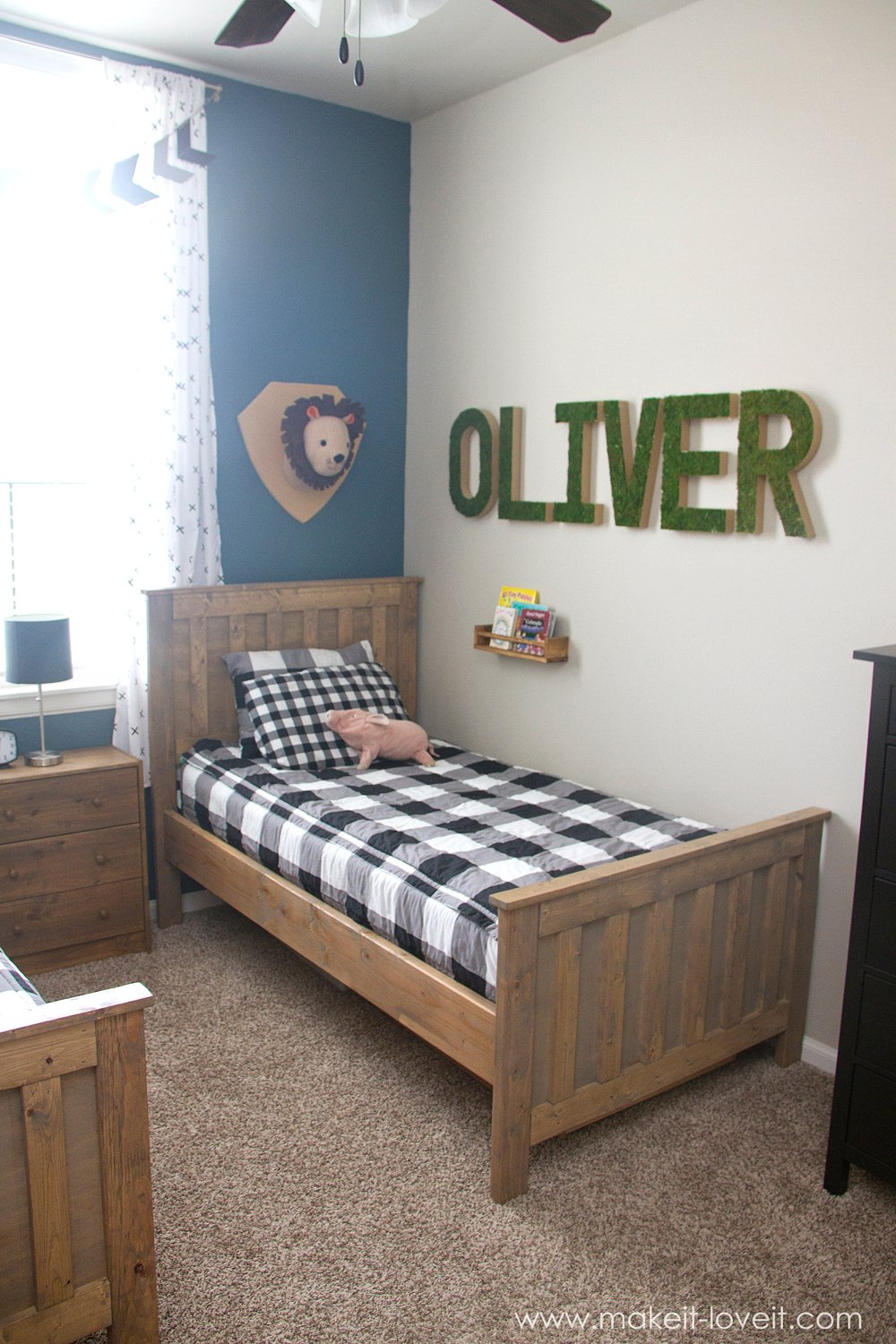 Shared Boys Geometrical Bedroom: Ideas For A Shared BOYS Bedroom (...yay, All Done