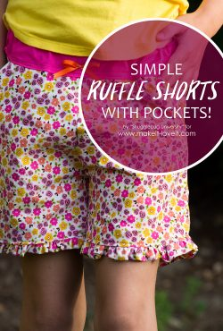 Simple Ruffle Shorts (With Pockets)!