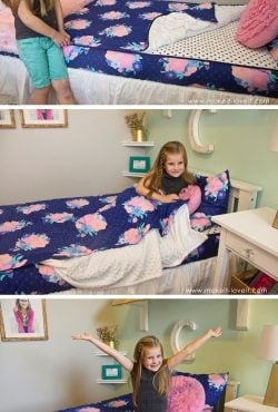 Zipper Bedding for my kids' beds…..best solution EVER!!